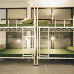 Euro Asia Hostel Кровать в общем номере с двухъярусной кроватью фото 11