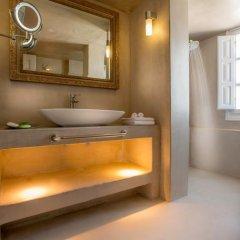 Отель Santorini Secret Suites & Spa 5* Вилла Junior с различными типами кроватей фото 11