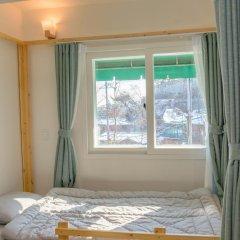 Отель I'm Green House 3* Кровать в общем номере с двухъярусной кроватью фото 4