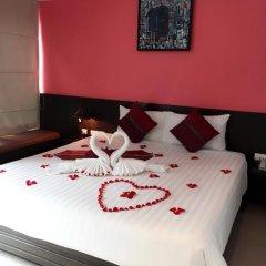 Отель PJ Patong Resortel 3* Стандартный номер с двуспальной кроватью фото 9
