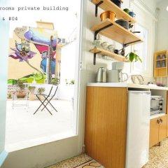 Апартаменты Live in Athens, short stay apartments Студия с различными типами кроватей фото 9