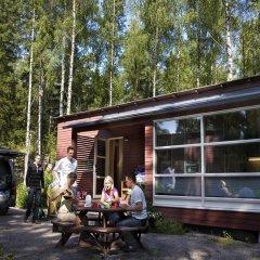 Отель Rastila Camping Helsinki городской автобус