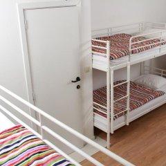 Brussel Hello Hostel Кровать в общем номере с двухъярусной кроватью фото 7