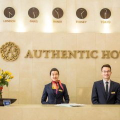 Authentic Hanoi Boutique Hotel интерьер отеля