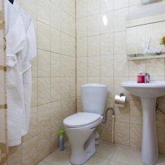 Мини-отель Бархат Номер Комфорт двуспальная кровать фото 9