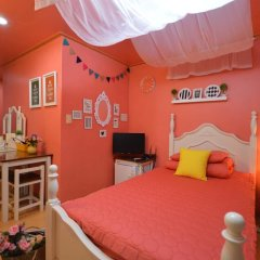 Отель Han River Guesthouse 2* Семейная студия с двуспальной кроватью фото 27