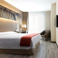 Отель NH Barcelona Diagonal Center 3* Стандартный номер с различными типами кроватей фото 4