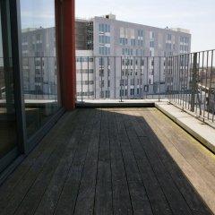 Отель ApartmentsApart Brussels Бельгия, Брюссель - 1 отзыв об отеле, цены и фото номеров - забронировать отель ApartmentsApart Brussels онлайн балкон