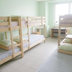 Хостел Эрэл Кровать в общем номере с двухъярусной кроватью фото 20