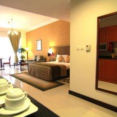 Star Metro Deira Hotel Apartments 4* Номер Делюкс с различными типами кроватей фото 2