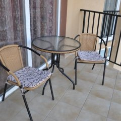Отель SVS SeaStar Apartments Болгария, Солнечный берег - отзывы, цены и фото номеров - забронировать отель SVS SeaStar Apartments онлайн балкон