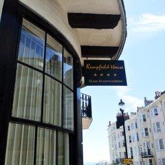 Отель Kempfield House Hotel Великобритания, Кемптаун - отзывы, цены и фото номеров - забронировать отель Kempfield House Hotel онлайн балкон