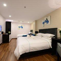Hanoi Emerald Waters Hotel & Spa 4* Семейный номер Делюкс с двуспальной кроватью фото 3