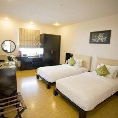 Отель Anise Hanoi 3* Улучшенный номер с различными типами кроватей фото 5