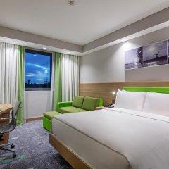 Отель Hampton by Hilton Istanbul Zeytinburnu 2* Стандартный номер с различными типами кроватей фото 11