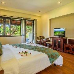 Отель Agribank Hoi An Beach Resort 3* Номер Делюкс с различными типами кроватей фото 22