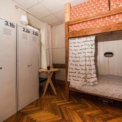 Хостел Архитектор Кровать в общем номере с двухъярусной кроватью фото 21