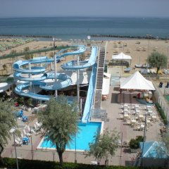 Отель Villa dei Gerani Италия, Римини - отзывы, цены и фото номеров - забронировать отель Villa dei Gerani онлайн пляж