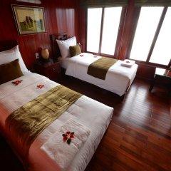 Отель Halong Royal Palace Cruise 3* Стандартный номер с различными типами кроватей фото 2