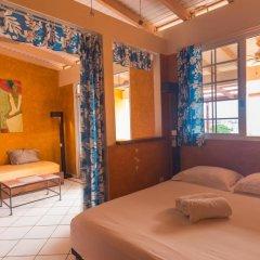 Отель Sunset Hill Lodge Французская Полинезия, Бора-Бора - отзывы, цены и фото номеров - забронировать отель Sunset Hill Lodge онлайн комната для гостей фото 3