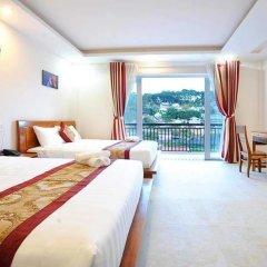 Отель Lien Huong Номер Делюкс фото 2