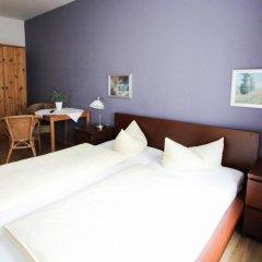 Отель Pension/Guesthouse am Hauptbahnhof Номер Комфорт с различными типами кроватей фото 10