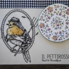 Отель Il Pettirosso B&B интерьер отеля