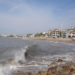 Vallarta Sun Hotel пляж