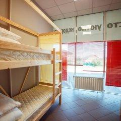 Hostel Lastochka Кровать в общем номере с двухъярусной кроватью фото 11