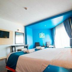 Отель Sea Breeze Jomtien Resort 4* Улучшенный номер с различными типами кроватей фото 13