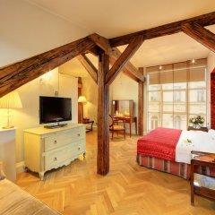 Smetana Hotel 5* Номер Делюкс с различными типами кроватей фото 4