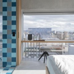 Placid Hotel Design & Lifestyle Zurich 4* Стандартный номер с различными типами кроватей фото 15