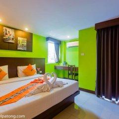 Green Harbor Patong Hotel 2* Улучшенный номер двуспальная кровать фото 7