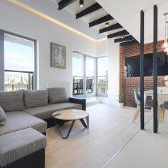 Апартаменты Dom & House - Apartments Waterlane Люкс с различными типами кроватей фото 17