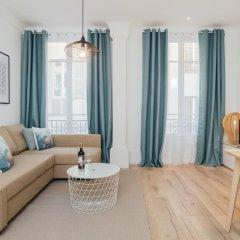 Апартаменты Contemporary Apartment in Nice комната для гостей фото 3