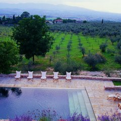 Отель Villa della Genga Country Houses Сполето бассейн фото 2