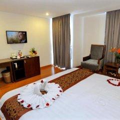 Hanoi Golden Hotel 3* Номер Делюкс с различными типами кроватей фото 15