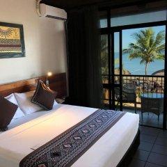Отель Smugglers Cove Beach Resort and Hotel Фиджи, Вити-Леву - отзывы, цены и фото номеров - забронировать отель Smugglers Cove Beach Resort and Hotel онлайн комната для гостей фото 3