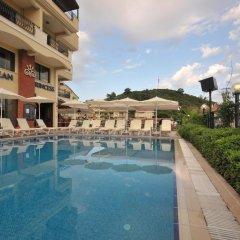 Апартаменты Aegean Princess Apartments And Studio бассейн фото 3