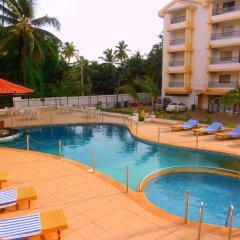 Отель Colva Kinara Индия, Гоа - 3 отзыва об отеле, цены и фото номеров - забронировать отель Colva Kinara онлайн бассейн