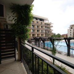 Апартаменты Studio New Estate In Complex Luxor балкон