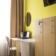Хостел Евразия Кровать в общем номере с двухъярусной кроватью фото 7