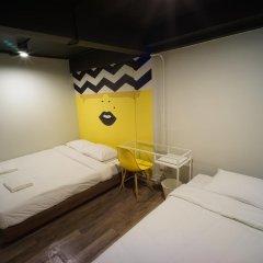 BRB Hostel Bangkok Silom Стандартный номер с различными типами кроватей (общая ванная комната) фото 5