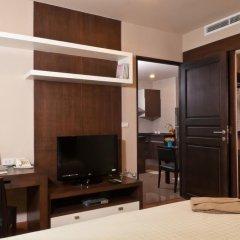 Отель The Tepp Serviced Apartment Таиланд, Бангкок - отзывы, цены и фото номеров - забронировать отель The Tepp Serviced Apartment онлайн удобства в номере фото 2