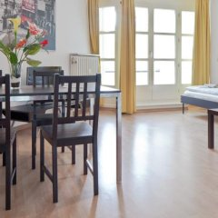 Апартаменты City Apartments Берлин комната для гостей фото 5