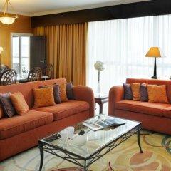 Апартаменты Marriott Executive Apartments Dubai Creek комната для гостей фото 3