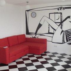 Апартаменты Абба комната для гостей фото 4