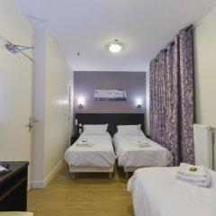 Отель Hôtel du Quai de Seine 2* Стандартный номер с различными типами кроватей фото 7