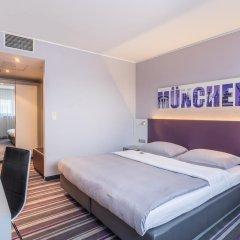 Rilano 24/7 Hotel München 3* Номер Комфорт разные типы кроватей