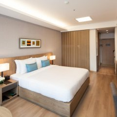 Отель Fraser Place Central Seoul 4* Студия с различными типами кроватей фото 2